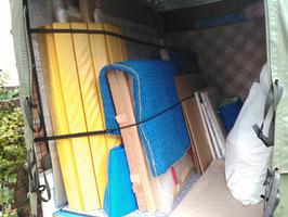 武蔵野美術大学至近です。大型絵画(150号まで)荷台に入ります。赤帽 国分寺市からの個展、公募展等は小平市の赤帽やましげ運送へ!