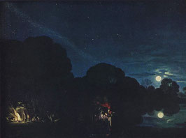 Flight into Egypt by Adam Elsheimer 1607