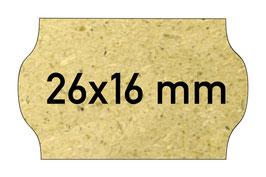 Etiketten 26x16 mm Gras Eco