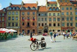 auf dem Hauptplatz im Zentrum von Warschau