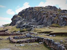 Temples de la lune et du soleil, ruines Incas, Cusco, Pérou