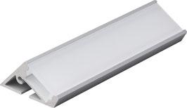Aluminium Eckprofil 30°