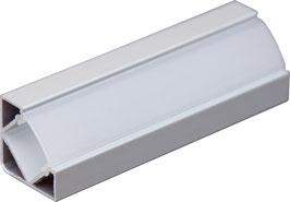 Aluminium Eckprofil 45°