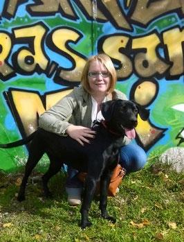 Laïka adoptée - chienne du refuge - Bréhand - Bretagne