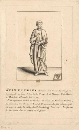Frère Jean de Dreux. Temple de Paris