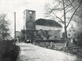 Kirchenbrand 1912