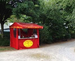 Poffertjesstand Sommerfest im Park bei Vodafone Ratingen