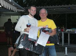 Sieger des ersten trimagischen Turniers, André Weckwerth und Stefan Müller