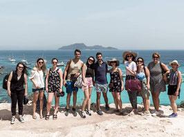 Gruppo expats in giro in Sicilia