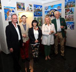 Georg Vetter, Matthias Laurenz Gräff, Georgia Kazantzidu, Karin Kneissl und Michael Breisky