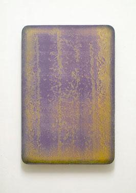 Utopischer Körper (Photophorus I)  2012  Acrylfarbe, Kunststoffsiegel, Ölfarbe auf MDF  60 x 40 cm