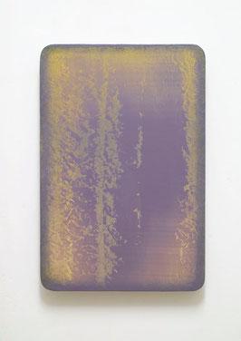 Utopischer Körper (Photophorus II)  2012  Acrylfarbe, Kunststoffsiegel, Ölfarbe auf MDF  60 x 40 cm