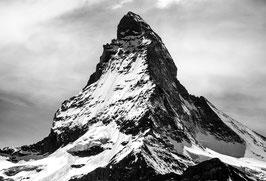 Das ist der spitzige Berg mit der spitzen Spitze