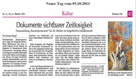 Der Neue Tag vom 5.10.2013