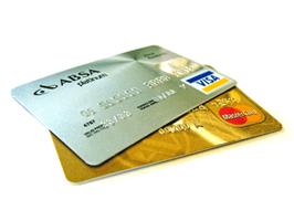 Wir akzeptieren Kreditkarten