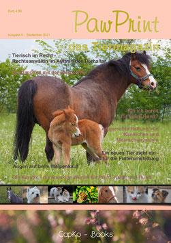 PawPrint - das Tiermagazin Ausgabe 5 (September 2021)