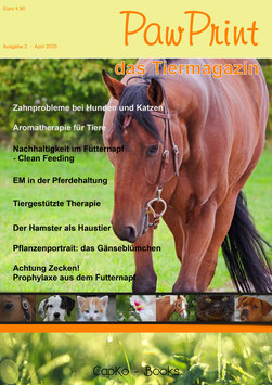 PawPrint - das Tiermagazin Ausgabe 2 (April 2020)