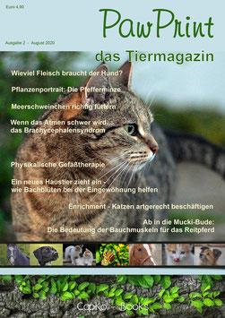 PawPrint - das Tiermagazin Ausgabe 3 (August 2020)