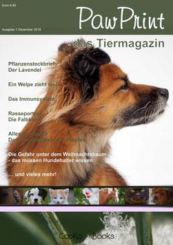 PawPrint - das Tiermagazin Ausgabe 1 (Dezember 2019)