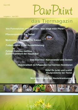 PawPrint - das Tiermagazin Ausgabe 4 (April 2021)