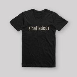 T-shirt logo a balladeer (V-hals)