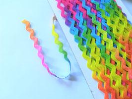 1m Zackenlitze, verschiedene Farben und Breiten ab 0,40€