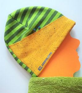 Mütze kiwi & senf