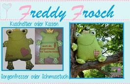 Freddy Frosch EBOOK, ausführliche Nähanleitung & Schnittmuster