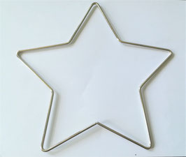 Metallring / Stern für Traumfänger