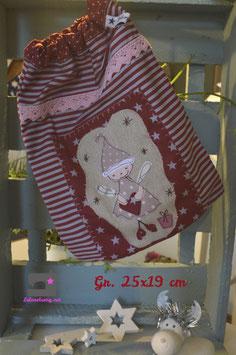Weihnachts Säckchen zur Deko oder Geschenkverpackung