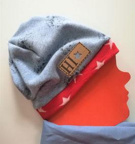 Mütze mit kleinen Igeln