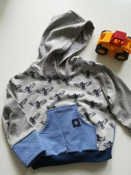 Sweater mit Bauchtasche
