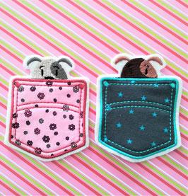 Taschen zum Pimpen, mit Katze oder Hund
