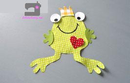 Großer Frosch zum selber applizieren