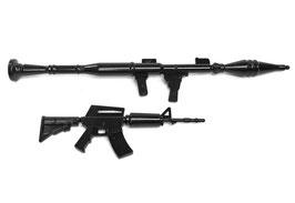 Miniatur Spielzeugwaffenset 1 (2 Stück)