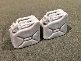 10L Benzinkanister unlackiert B-Ware* (2 Stück)
