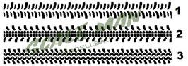 Reifenspur-Aufkleber V3 Paar (2 Stück)