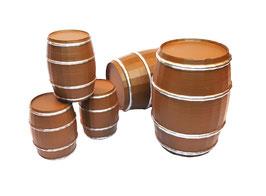 Holzfass Nachbau (aus Kunststoff)