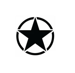 Army Stern (2 Stück)