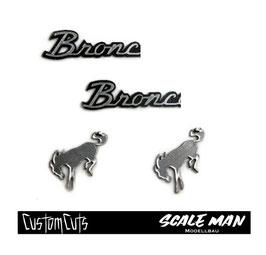 Emblem Set Bronco