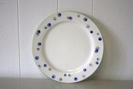 水滴文デザート皿