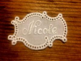 """Namen  """" Nicole """""""