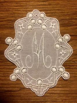 "Monogramm Royal, Buchstabe  "" M "",   Art. 7013"