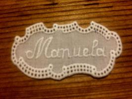 """Namen  """" Manuela """""""