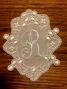 "Monogramm Royal, Buchstabe  "" R "",   Art.  7018"