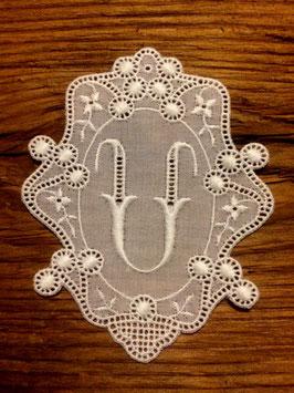 "Monogramm Royal, Buchstabe  "" U "",   Art.  7021"