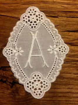"""Monogramm Gaba, Buchstabe  """" A """",   Art.  7101"""