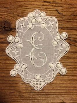 "Monogramm Royal, Buchstabe  "" E "",   Art. 7005"