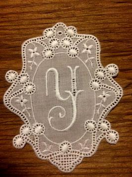 "Monogramm Royal, Buchstabe  "" Y "",   Art. 7024"