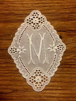 """Monogramm Gaba, Buchstabe  """" M """",   Art.  7113"""